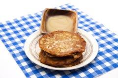 Pancake crisply baked Stock Image