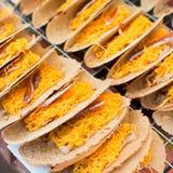 Pancake croccante tailandese Fotografie Stock Libere da Diritti