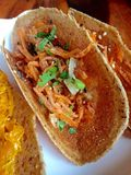 Pancake croccante tailandese Immagini Stock