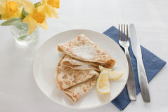 Pancake Day Shrove Fat Tuesday Stock Photography