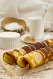Pancake dei Cocos Fotografia Stock