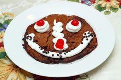 Pancake del cioccolato Fotografie Stock Libere da Diritti