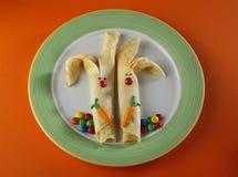 Pancake del coniglio Immagini Stock Libere da Diritti