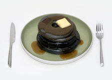 Pancake del ferro fotografie stock