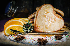 Pancake del focolare Fotografia Stock