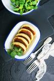 Pancake del formaggio immagini stock libere da diritti