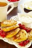 Pancake del formaggio Fotografia Stock Libera da Diritti