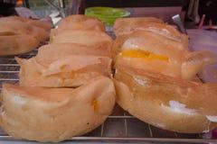 Pancake del ` s della Tailandia Poorman Fotografia Stock