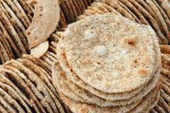 Pancake del sesamo Fotografia Stock Libera da Diritti
