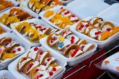 Pancake delicious dessert Stock Images