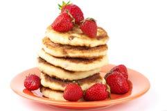 Pancake della ricotta Fotografia Stock Libera da Diritti