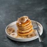 Pancake della ricotta Fotografie Stock Libere da Diritti