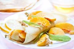 Pancake dessert Royalty Free Stock Image