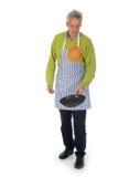 Pancake di cottura Fotografie Stock Libere da Diritti