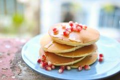 Pancake di estate Fotografia Stock
