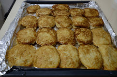 Pancake di patata Immagini Stock