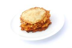 Pancake di patata tedeschi Fotografia Stock Libera da Diritti