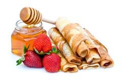 Pancake dolci fotografia stock libera da diritti