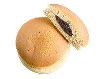 Pancake dolci giapponesi isolati. Fotografie Stock