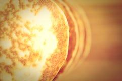 Pancake, flapjack, slapjack Stock Images