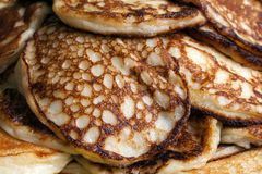 Pancake food Stock Image
