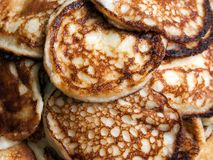 Pancake food Stock Photo