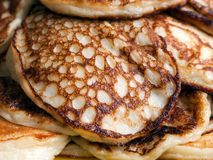 Pancake food Royalty Free Stock Images