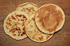 4 pancake Royalty Free Stock Photos