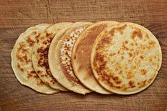 4 pancake Royalty Free Stock Photo