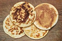 4 pancake Royalty Free Stock Images