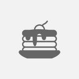 Pancake   icon Stock Image