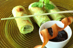 Pancake from indonesia Stock Image