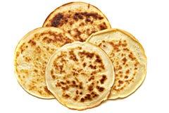 4 pancake isolated Royalty Free Stock Images