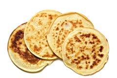 4 pancake isolated Royalty Free Stock Photos