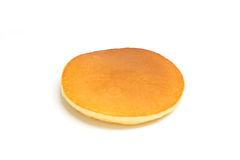 Pancake isolated on white background Royalty Free Stock Images