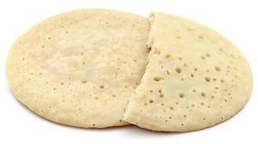 Pancake localmente nominato come Chitoi Pitha nel Bangladesh fotografia stock libera da diritti