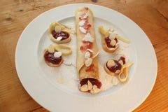 pancake made for pancake day Stock Images