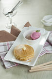 Pancake Maple Royalty Free Stock Images