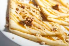 Pancake molli Immagini Stock Libere da Diritti