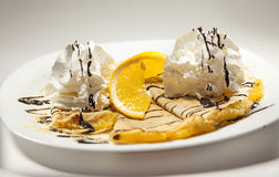 Pancake molli Fotografie Stock Libere da Diritti