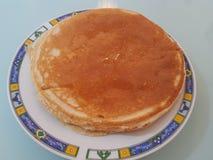 Pancake morning royalty free stock image