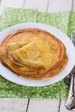 Pancake o crêpe Fotografie Stock Libere da Diritti