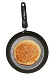 Pancake in pan Stock Photo