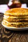 Pancake. Pancakes stack, traditional Russian pancakes - blini Stock Images