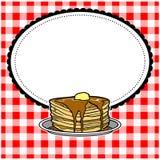 Pancake Party Invite Stock Photo