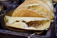 Pancake peanut Stock Image