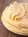 Pancake pile Royalty Free Stock Photo