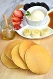 Pancake Pile Royalty Free Stock Image