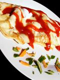 Pancake on the plate Royalty Free Stock Photography