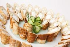 Pancake plate Royalty Free Stock Image